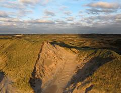 Noordzeekust (1) (de kist) Tags: sea netherlands coast north nederland noordzee zee aerial kap duinen aan wijk kust noordhollands duinreservaat noordzeekust