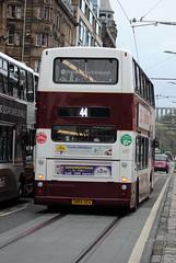 687 (Callum Colville's Lothian Buses) Tags: bus buses dennis denis lothian trident madder lothianbuses transbus dennins madderandwhite madderwhite dennislothianbuses
