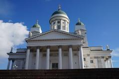 Helsinki (000verthinking) Tags: girls sky finland landscape helsinki cathedral russia visit monuments sights finlandia
