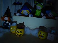 Ui, ui, ui! (Ateliê Bonifrati) Tags: orange cute halloween pumpkin diy laranja craft decoração tutorial pap molde diadasbruxas passoapasso bonifrati