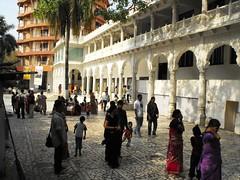 Mumbai, Apr. 2010 (leonyaakov) Tags: city india holiday streets art museum religion promenade temples maharashtra mumbai krishna monuments hindu citycenter sunnyday trafic harekrishna citytour  marculescueugendreamsoflightportal