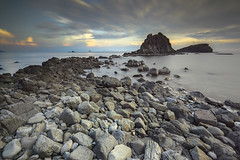 Rejuvinate (seednie) Tags: longexposure sunset nature landscape rocks philippines filters rockformation pinnaclerock landscapephotography dynamicclouds marivelesbataan