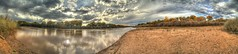 Middle Rio Grande at Tingley (JoelDeluxe) Tags: newmexico beach bench sand terrace albuquerque dukecity bosque wetlands nm joeldeluxe ponds hdr riogrande mrg biopark floodplain tingley