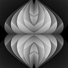 BKnight Paper Folds 3 (bcknightphotography) Tags: abstract reflection contrast paper blackwhite folding backlighting iwps bcknightphotography