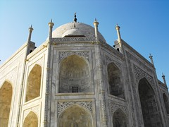Agra, Taj Mahal Closeup, January 2012