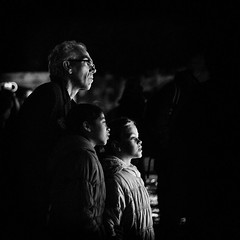 Captivated. (michaelgartonphotography) Tags: street blackandwhite digital mono moody candid streetphotography processed atmospheric