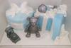 christening gift boxes (CakesandFavors) Tags: bear cake teddy christeningcake celebrationcake boyscake