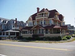 Traditional houses on Marthas Vineyard