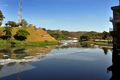Rio Tiet (Natal Forcelli) Tags: city cidade brazil urban rio brasil natal sopaulo urbana f romeiros osvaldo amricadosul romaria riotiet crena southamrica caravanas piraporadobomjesus forcelli