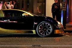 Golden Veyron (_SAMSAL_) Tags: black london gold exotic supercar veyron supersports hypercar