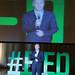 Mauricio Macri inaguro el Foro Internacional de Innovacon Educativa.