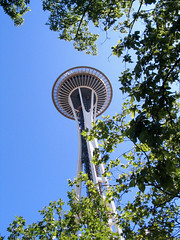 "Green Foliage around Space Needle • <a style=""font-size:0.8em;"" href=""http://www.flickr.com/photos/34843984@N07/15546291892/"" target=""_blank"">View on Flickr</a>"