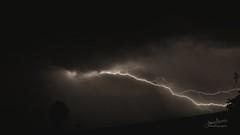 Lightning 07 Sepia