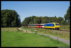 NS 186 003, Rheden  2-9-2014 (Henk Zwoferink) Tags: br ns nederland 186 003 direct 002 henk intercity bombardier gelderland traxx rheden hsa zwoferink