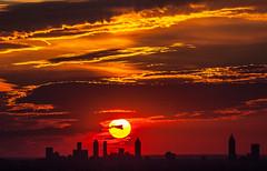Sunset from Stone Mountain (C.Fredrickson Photography) Tags: city sunset sun ga georgia october stonemountain 2014 carlfredrickson wwwcfredricksonphotographycom tamron150600mm carlfredrickson2014