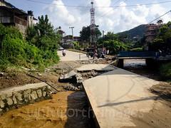 Broken road (whitworth images) Tags: road bridge nepal broken rain weather concrete asia natural flood destruction erosion monsoon disaster damage pokhara wetseason kaski