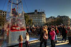 Every Man Remembered III (Lee Nichols) Tags: people london photoshop memorial trafalgarsquare poppies warmemorial hdr highdynamicrange peoplewatching remembrancesunday photomatix redpoppies royalbritishlegion tonemapped tonemapping handheldhdr canoneos600d