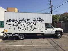 TRIGZ (UTap0ut) Tags: california art cali graffiti la los paint angeles rip socal cal tribute graff trigz utapout riptrigz