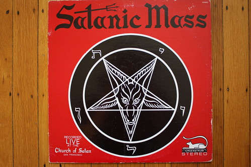 Satanic Mass LP (Mergenstrum 1968)