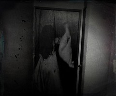 Day 297--knocking at your door (XeniaJoy) Tags: selfportrait poem tintype poe lenore 297 365days cellphonephotography