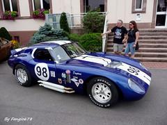 Cobra Daytona (fangio678) Tags: classic cars cobra expo voiture 03 collection coche oldtimer daytona 08 ancienne 2014 youngtimer americaine entzheim voituresanciennes