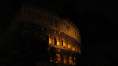 Colosseum in the green Night