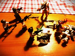 My Aliens vs my eu troops. End 2. (my name is schimmi) Tags: lego space eu aliens invasion thepurge