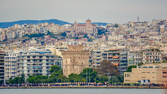 A view of Lefkos Pirgos. (Photo_hobbyist) Tags: city white building tower nikon rocks symbol macedonia thessaloniki tamron lefkos pirgos makedonia d5200