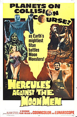HM-49 Classic Horror Movie Poster - Hercules Against Moon Men (museum outlets) Tags: usa moon men classic museum movie framed posters horror hercules outlets giclee