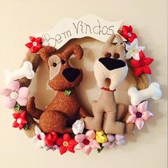 Guirlanda de cachorro (Pina & Ju) Tags: flor fuxico