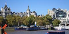 D11786.  TATTERSHALL CASTLE. (Ron Fisher) Tags: uk greatbritain england london boats pentax unitedkingdom gb riverthames paddlesteamer pentaxkx thethames tattershallcastle