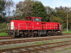 DB SRN - Diesellocomotive N 6508. (Franky De Witte - Ferroequinologist) Tags: de eisenbahn railway estrada chemin fer spoorwegen ferrocarril ferro ferrovia