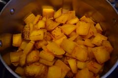 Recycled Jack o'Lantern (jjldickinson) Tags: food cooking dinner pumpkin pot longbeach wrigley masterchef nikond3300 promaster52mmdigitalhdprotectionfilter 100d3300 nikon1855mmf3556gvriiafsdxnikkor