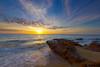 Black Rock Sunset (Aristotle Jonas Tanag Photography) Tags: sunset seascape canon australia victoria filter hdr 06nd