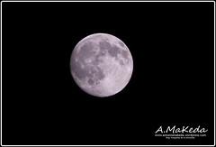 Luna Lunera (Antonio Makeda) Tags: barcelona moon luna catalua fotonocturna terrassa fotografianocturna fotografiaastrologica