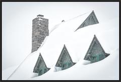 Buried (jk walser) Tags: d800e jkwalser mtrainiernationalpark paradise paradiseinn snowshoe wa winter roof snow
