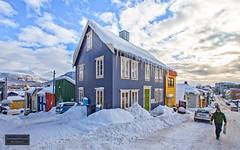 Winter city - Tromsø - Norway (Torbjørn Tiller) Tags: tromsø tromso troms norge norway winter icicles istapper mackbratta