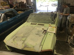 """1967 Ford Mustang Convertible • <a style=""""font-size:0.8em;"""" href=""""http://www.flickr.com/photos/85572005@N00/32751397734/"""" target=""""_blank"""">View on Flickr</a>"""