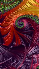 Plastic Spiral Fractal (ataxiagallery) Tags: colorsinourworld ataxiagallery abstract plastic spiral colorful frax fractal