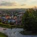 Enjoying sunset at Ljubljana