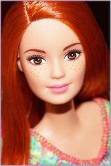 Made To Pose (farmspeedracer) Tags: doll toy playline woman girl femme friend frau redhead freckles yoga barbie fashion 2016 2017 made move