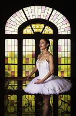 Dance with your heart, your feet will follow. (22/52) (sylvievienne) Tags: model portrait dancer dance ballet ballerina photography photoshoot makeup tutu