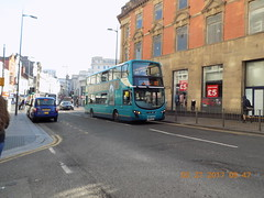 MX61 AXZ_4461_82 Speke Morrisons (amypetrelli) Tags: arriva north west wright gemini 2dl