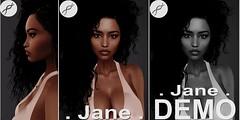 ::AnOosh:: Jane for Genesis Lab JANE Bento mesh head <3 (ava ²) Tags: genesis lab bento jane mesh head face applier halle ethnic shape
