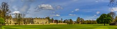 Oxford Colleges seen over the Merton field - Oxford, Great Britain (dejott1708) Tags: oxford colleges england great britain panorama cityscape merton college clouds field