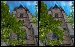 Wernigerode Liebfrauenkirche 3-D / Stereoscopy / CrossEye / HDR / Raw (Stereotron) Tags: sachsenanhalt saxonyanhalt harz mountains gebirge wernigerode architecture church chapel tower kirche liebfrauenkirche europe germany crosseye crosseyed crossview xview cross eye pair freeview sidebyside sbs kreuzblick 3d 3dphoto 3dstereo 3rddimension spatial stereo stereo3d stereophoto stereophotography stereoscopic stereoscopy stereotron threedimensional stereoview stereophotomaker stereophotograph 3dpicture 3dglasses 3dimage twin canon eos 550d yongnuo radio transmitter remote control synchron kitlens 1855mm tonemapping hdr hdri raw ostfalen ostfalia hardt hart hercynia harzgau
