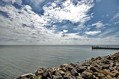 Zuiderzee (catomaior) Tags: sky sea clouds nuvole grandangolo wideangle panorama landscape holland netherlands olanda paesibassi