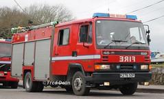 Whitegate Refinery Fire Service (K276SDF). (Fred Dean Jnr) Tags: whitegate cork march2017 whitegaterefineryfireservice leyland daf 45 k276sdf