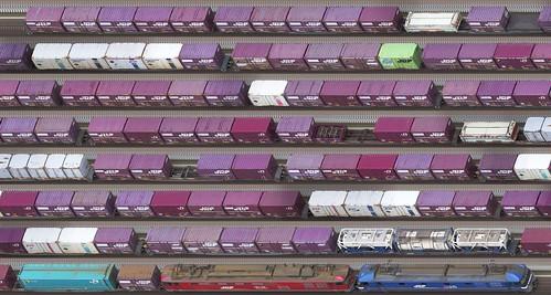 trainscanner freighttrain jr okayama redthunder momotaro