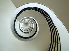 Wendeltreppe (c_bischoff) Tags: architecture architektur berlin schnecke spiral spirale staircase stairs treppe wendeltreppe